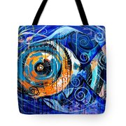 Fire Belly Shadow Tote Bag