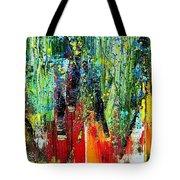 Forest Summer Rain Tote Bag