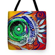 Happy Fish Compliments Transcending Time Tote Bag