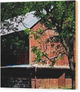 October Hill Wood Print