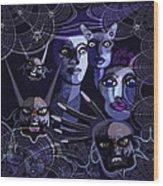 060 -  Paranoia Blues ... Wood Print