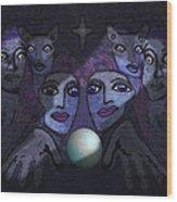 062 - Demons B Wood Print