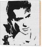 # 1 Gregory Peck Portrait. Wood Print