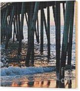 16th Street Pier Wood Print