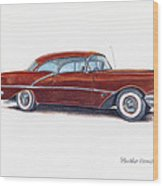 1956 Oldsmobile Super 88 Wood Print