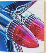 1959 Caddy Wood Print