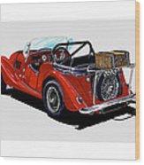 Morgan 4 Plus 4 1961 Wood Print