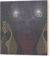 464 - Virgins For Lucifer   Wood Print
