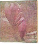 A Peek Of Spring Wood Print