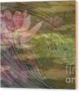 A Splash Of Lily Wood Print