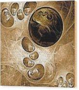Abstraction 208 - Marucii  Wood Print