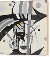 Abstraction 269 - Marucii Wood Print