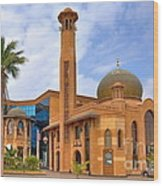 Al Tujjar Mosque Wood Print