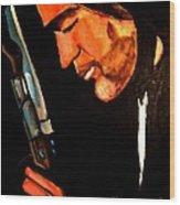 Antonio Banderas Wood Print