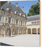 Arch View Palace Bussy Rabutin Wood Print