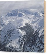 Argentina. Andes Mountains Wood Print by Anonymous