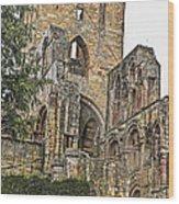Augustinian Abbey Wood Print