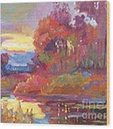 Autumn Light Wood Print
