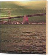Bay Bridge, San Francisco Wood Print