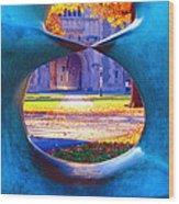 Blair Hall Gate  Wood Print by George Oze