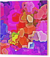 Bold And Colorful Phone Case Artwork Designs By Carole Spandau Cbs Art Exclusives 101 Wood Print