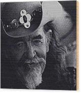Born To The West Homage 1937 Buffalo Biil Helldorado Days Tombstone Arizona 1968-2008 Wood Print