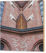 Buda Reformed Church Architectural Details Wood Print