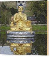 Buddha 25 Wood Print