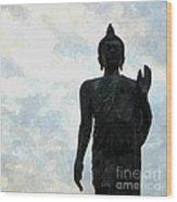 Buddha 30 Wood Print