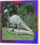 Canadian Dinosour Museaum    Canada Is Rich In Fossils Especially The Provinces Of Alberta And Bri Wood Print