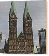 Cathedral Bremen - Germany Wood Print