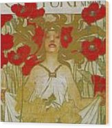 Century Midsummer Holiday Number Wood Print
