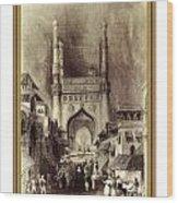 Charminar Wood Print