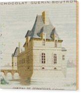 Chateau De Fervacques (calvados) Wood Print