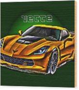 Chevrolet Corvette Z06 Wood Print