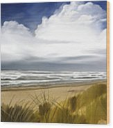 Coastal Breeze Wood Print