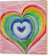 Colourful Dreams Wood Print