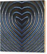 Contours 10 Wood Print