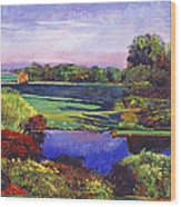 Country View Estate Wood Print