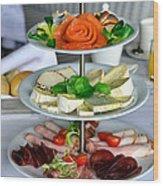 Decorative Food Wood Print