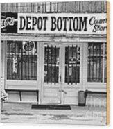 Depot Bottom Country Store Wood Print by   Joe Beasley