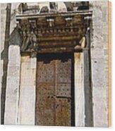 Doorway To The Duomo Wood Print