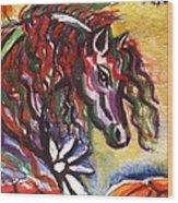 Dream Horse 2 Wood Print