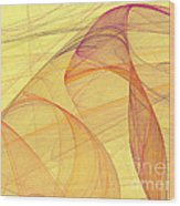 Elegant Abstract Background Wood Print