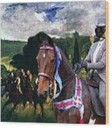 Entlebucher Sennenhund  - Entelbuch Mountain Dog Art Canvas Print -who Is The Winner Of The Race Wood Print
