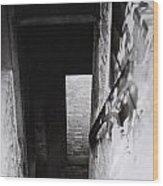 Ephrata Cloisters Stairway Wood Print