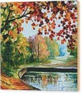 Far Hills Wood Print
