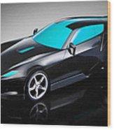Ferrari 15 Wood Print