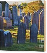 Final Resting Place Wood Print