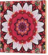 Floral Abundance  Wood Print